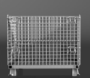 Industrial Wire Baskets | Industrial Wire Baskets Collapsible Mesh Containers Bulk Storage