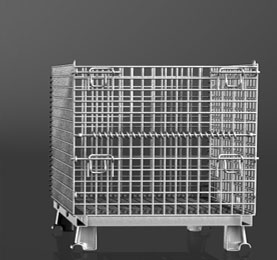 Medium Industrial Wire Containers