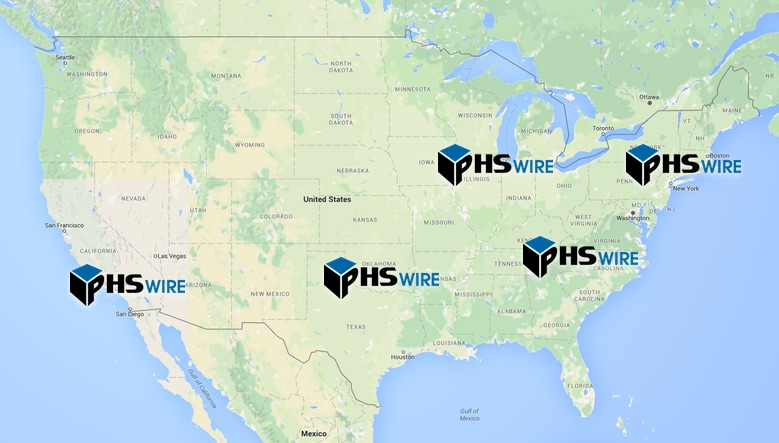 industrial wire container us shipping locations