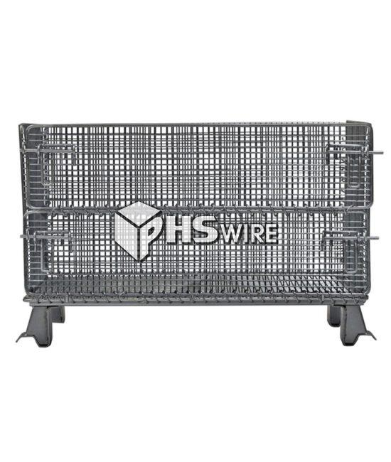 small industrial wire container