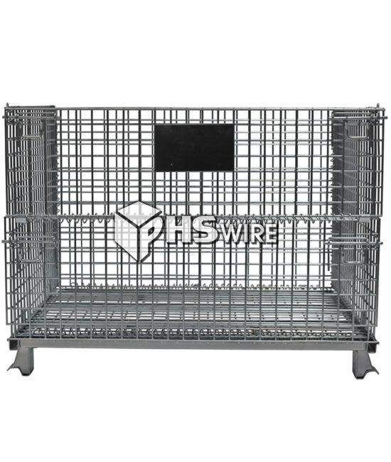 large industrial wire container
