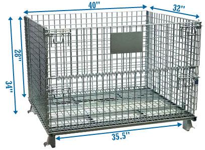 medium wire warehouse storage