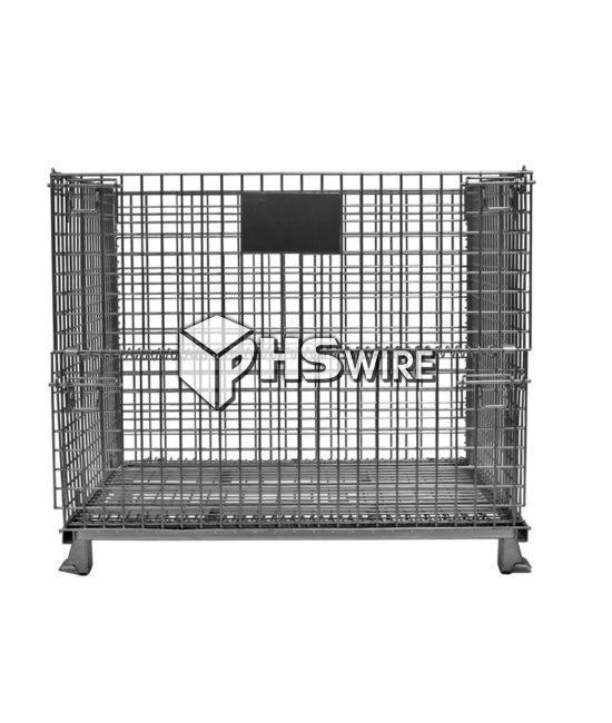medium industrial wire container