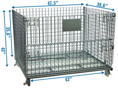 XL warehouse wire basket