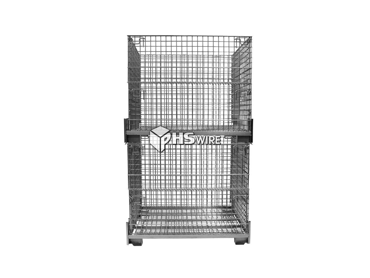 Stainless Steel Industrial Wire Containers, Wire Baskets | PHS Wire